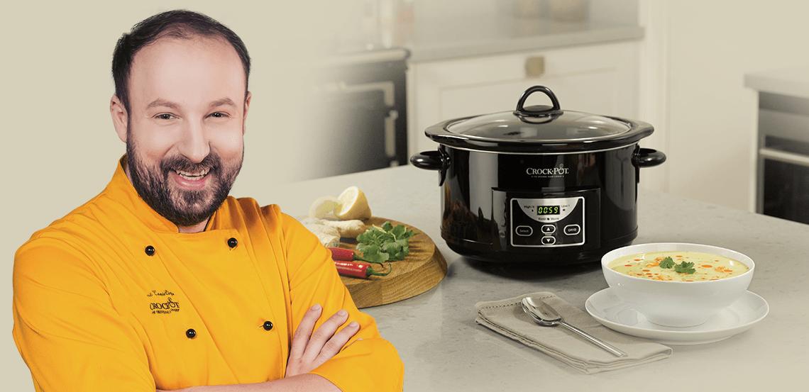 Chef Alex Cîrţu recomandă Slow Cooker Crock-Pot