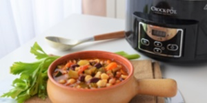 Minestrone la Slow Cooker Crock-Pot 4.7L Digital by Teo's Kitchen