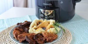 Cotlet de porc la Slow Cooker Crock-Pot 4.7L Digital by Teo's Kitchen