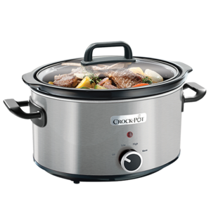 Slow cooker 3.5L Manual Brushed Inox