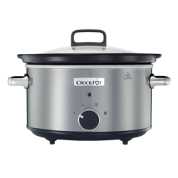 Slow Cooker 3.5L Stainless Steel Crock-Pot