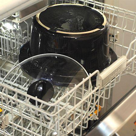Vas detașabil, lavabil în mașina de spălat vase