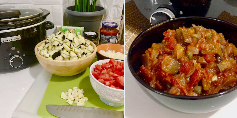 Reteta caponata la Crock-Pot by Cristian Margarit